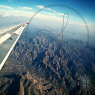 Mountain Folds and Plane Wing