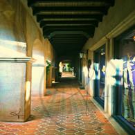 Tlaquepaque Patio Hallway