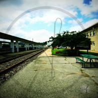 Burlington Station Tracks to South