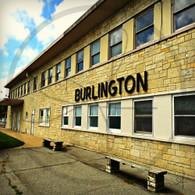 Burlington Station Building Sign