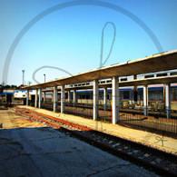 Burlington Station Platform California Zephyr