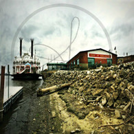 American Queen Docked Burlington