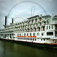 American Queen Port Side