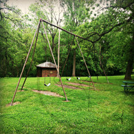 Crapo Park Swing Set