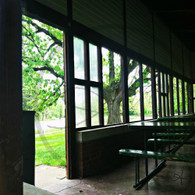 Crapo Skate House Doorway View