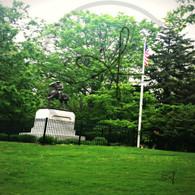 Corse Statue Crapo Park
