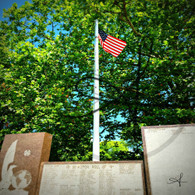 Chandler Park Memorial Flag