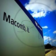 Amtrak Sign Macomb IL