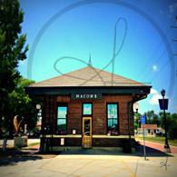 Macomb Station Side Door