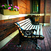 Macomb Station Bench View