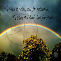 Rainbows and Stars 8x10