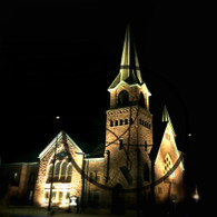 First United Methodist Church Lights
