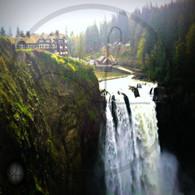 Snoqualmie Falls and Salish Lodge
