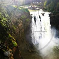 Falls and Rock Ledge