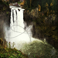 Snoqualmie Falls Spray