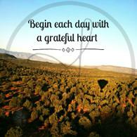 Begin Each Day