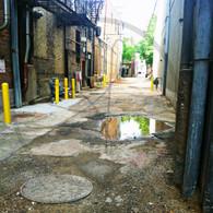 Alleyway to Jefferson Street 8x10