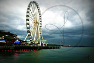 Ferris Wheel on Pier 57 8x10