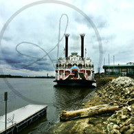 American Queen at Port Dock 8x10