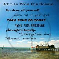 Advise from Ocean