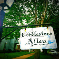 Cobblestone Alley Sign