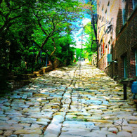 Cobblestone Alley from Washington St