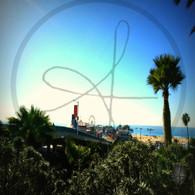 Santa Monica Pier from Palisades Park