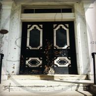 Freeport Building Double Doors