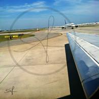 Atlanta Planes in Line