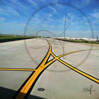 Atlanta Airport Runway Lines