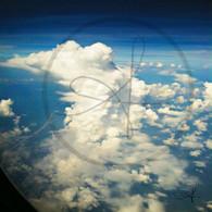 Belize Cloud Mass over Coast