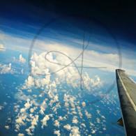 Belize Cloud Cluster Plane Wing