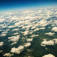 Belize Clouds over Land