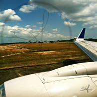Belize Airport View From Runway