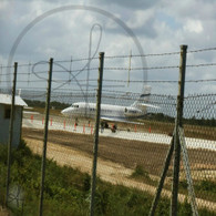 Belize Airport Fence