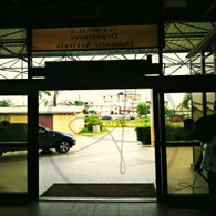 Belize Airport Door