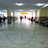 Belize Airport Waiting Hall