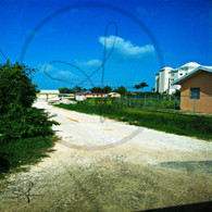 Belize City Gravel Road