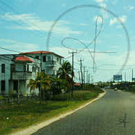 Belize City Northern Highway View