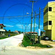 Belize City Side Road View