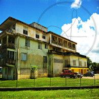 Belize City Lage Building