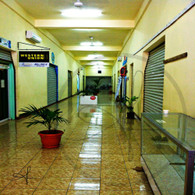 Belize City Long Hallway
