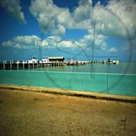 Belize Caribbean Front Dock
