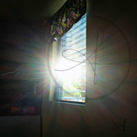 Sand Hill Sunshine through Window