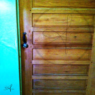 Sand Hill Wooden Door