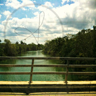 Belize River Burrell Boom Bridge