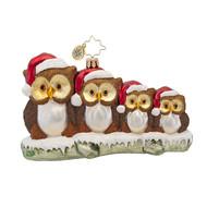 Christopher Radko's Owl in the Family