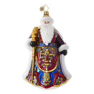 Christopher Radko Santa's Christmas Cape