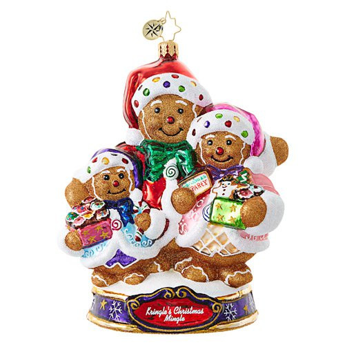 Christopher Radko Ornament of the Month Bearing Sweet Treats