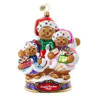 Christopher Radko Ornament of the Month Bearing Sweet Treats